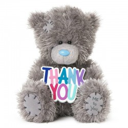 Me to You bear 13 cm Thank You